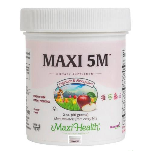 -- פרוביוטיקה באבקה -- Maxi Health, מכיל 60 גרם