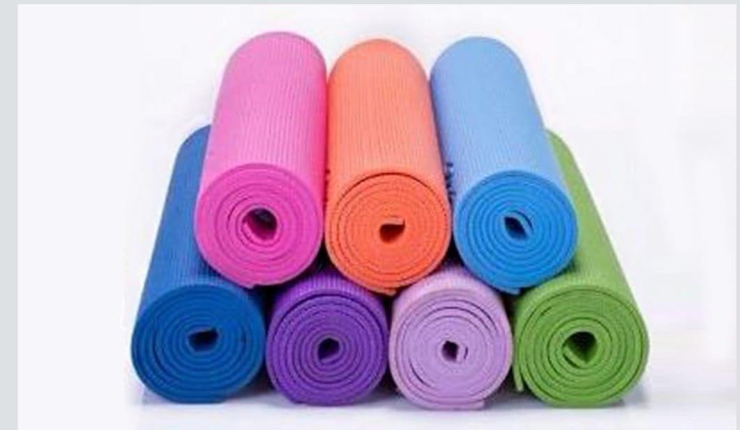 משטח יוגה 6 ממ במגוון צבעים לבחירה