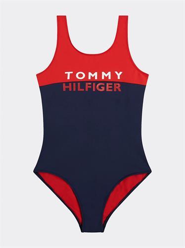 בגד ים שלם TOMMY H אדום כחול