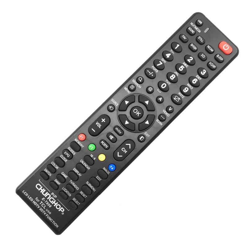 שלט רחוק אוניברסלי לטלויזיות tcl-ב65 שקלים בלבד