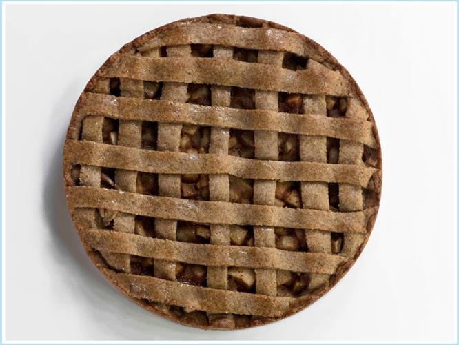 פאי תפוחים וקינמון (קוטר)