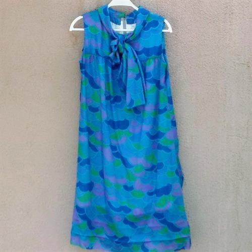 שמלה קסומה משנות ה-70 מידה S/M
