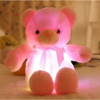 מנורת הדוב הזוהר בעלת 7 אורות בצבעים מרהיבים מבית GlowBear ™
