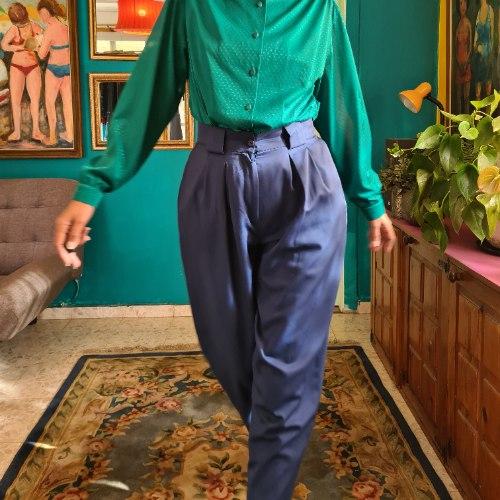 מכנסי באגי כחולים מושלמים מידה L/XL