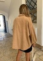 ג׳קט/ חולצת אינדיאנה בז'
