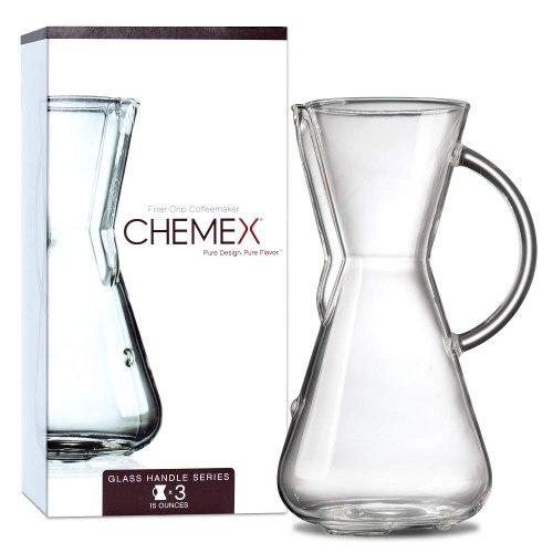 CHEMEX קנקני חליטה עם ידית זכוכית 3 כוסות
