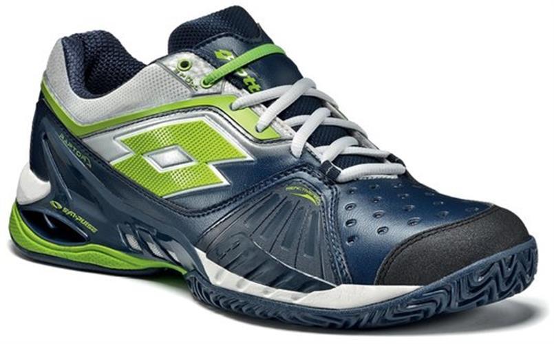 נעלי טניס ילדים Lotto Raptor Jr כחול/ירוק