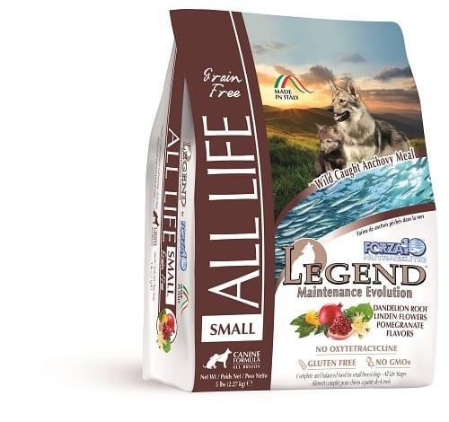 """לג'נד ALS מייטננס 1 ק""""ג מזון יבש לכלבים"""