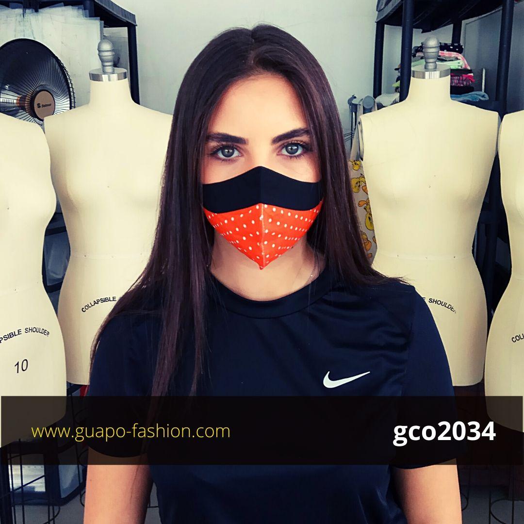 מסכת בד מעוצבת לנשים cotton face mask
