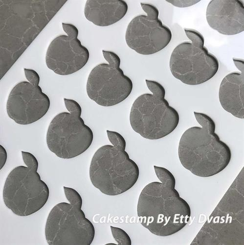 לוח סטנסיל תפוחים