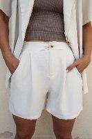 מכנסון רובין לבן