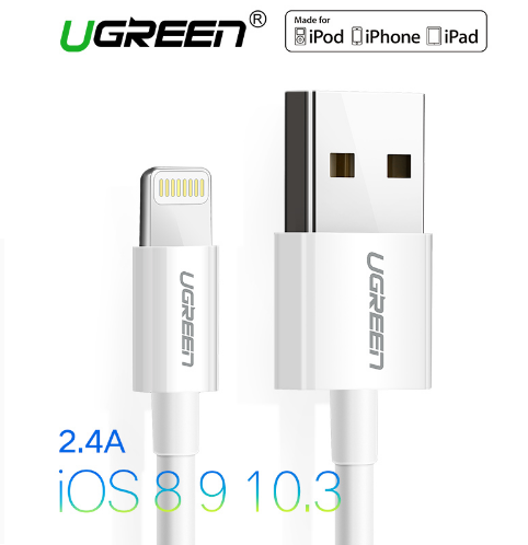 כבל iPhone של המותג האיכותי Ugreen
