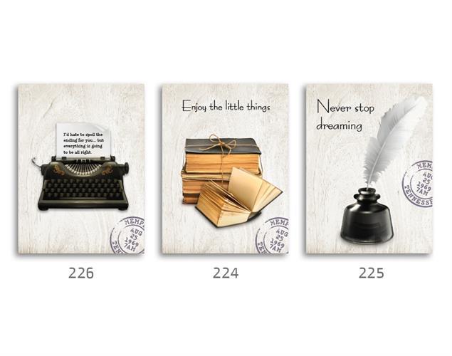 סט של 3 תמונות השראה מעוצבות לתינוקות, לסלון, חדר שינה, מטבח, ילדים - תמונות השראה 037