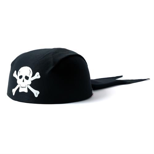 כובע פיראט בנדנה שחור