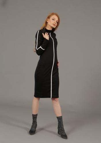 שמלת סייפן שחורה