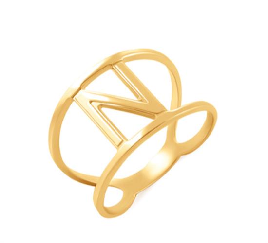 טבעת חיתוך אות אחת
