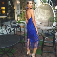 שמלת נובו כחול רויאל