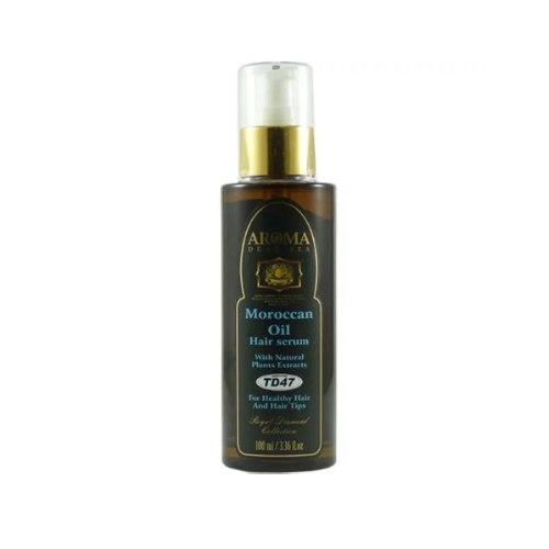 סרום לשיער על בסיס שמן ארגן (תרכובת מקצועית) לטיפול בקצוות מפוצלים ולשיער בריא