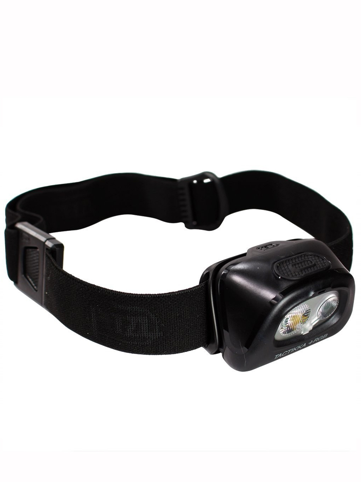 פנס טקטי ראש שחור פצל 120 לומנס  TACTIKKA +RGB 120l PETZL