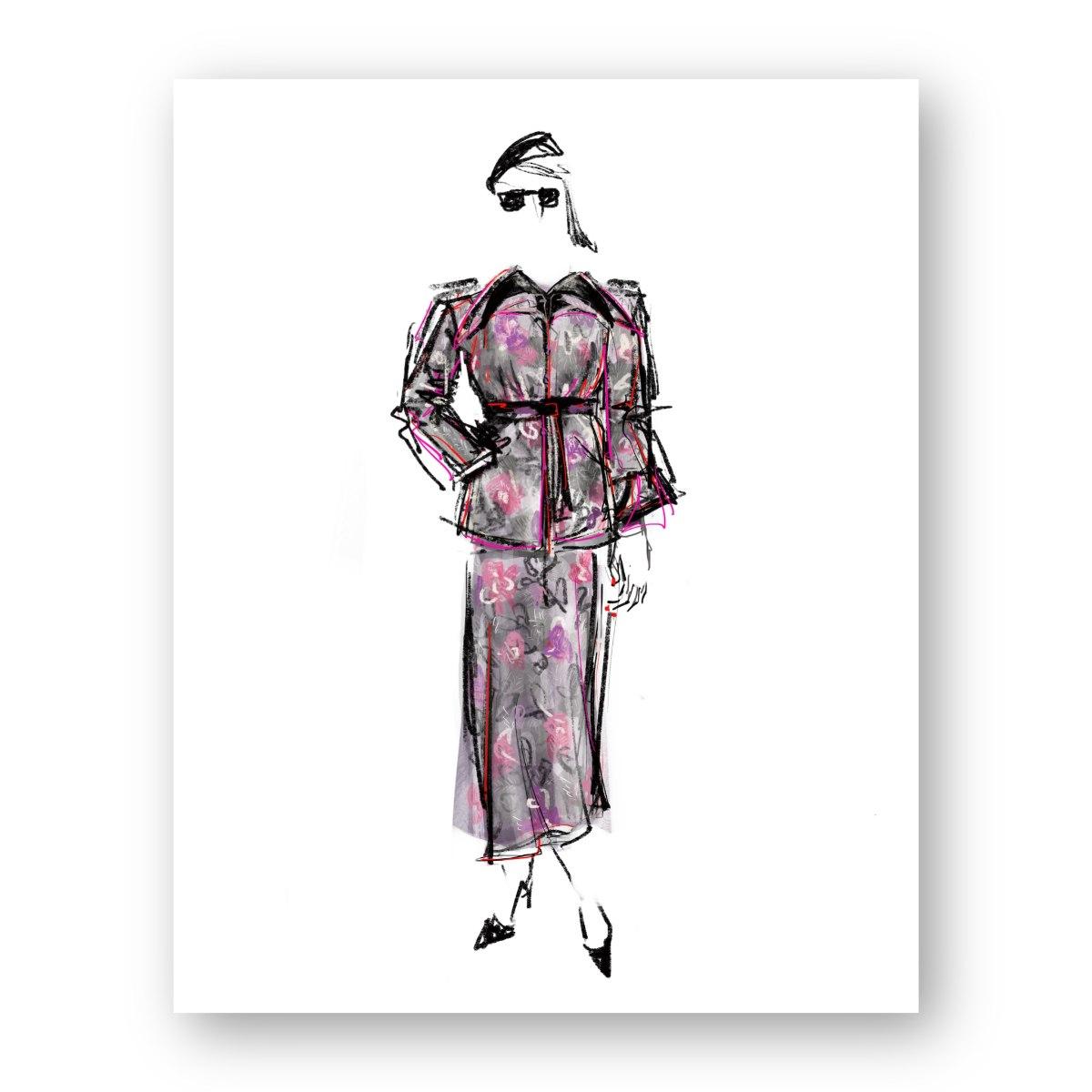 איור אופנה #8