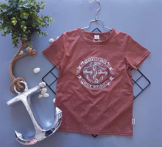 חולצת טישרט הדפס דגם 948