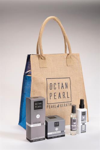 ערכת טיפוח לשיער מבית OCEATN PEARL - סדרת הסילבר