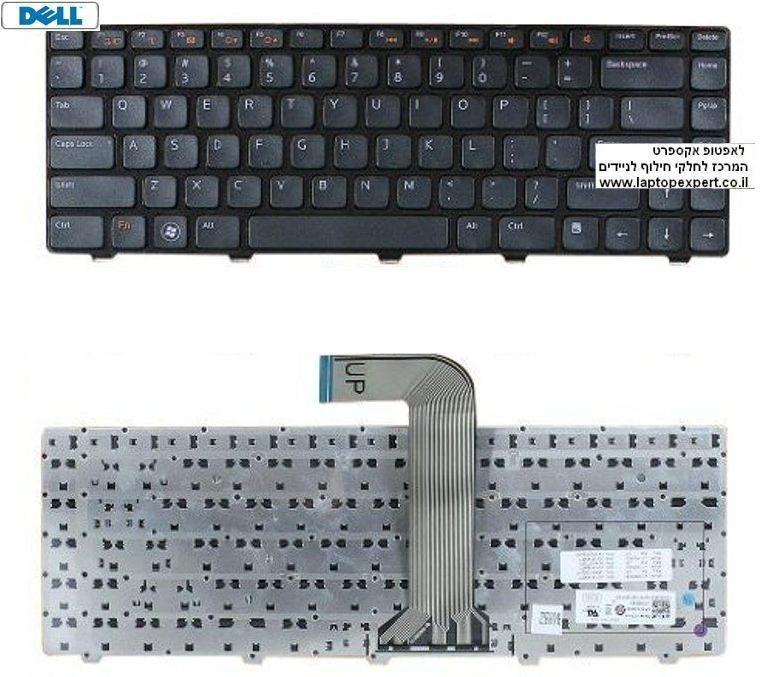 החלפת מקלדת למחשב נייד דל Dell Vostro 3450 Laptop Keyboard 032J3M
