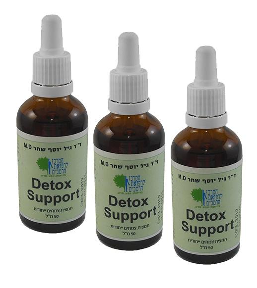 ערכת טיפול לניקוי וחיזוק הכבד ומערכת החיסון - detox support  - מומלץ פעם בשנה