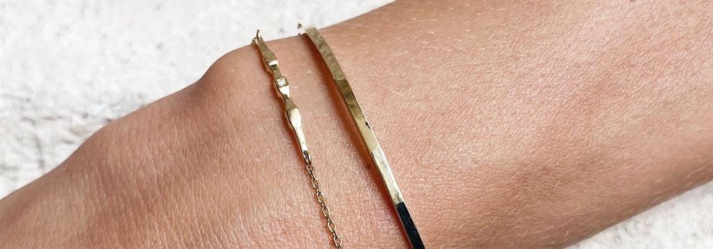 צמידי זהב - 8th Floor Studio Jewelry