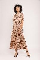 שמלת רוז מנומרת