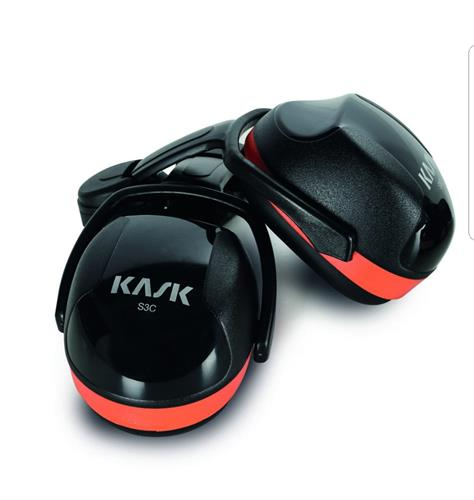 אוזניות מגן לקסדה Kask כתום