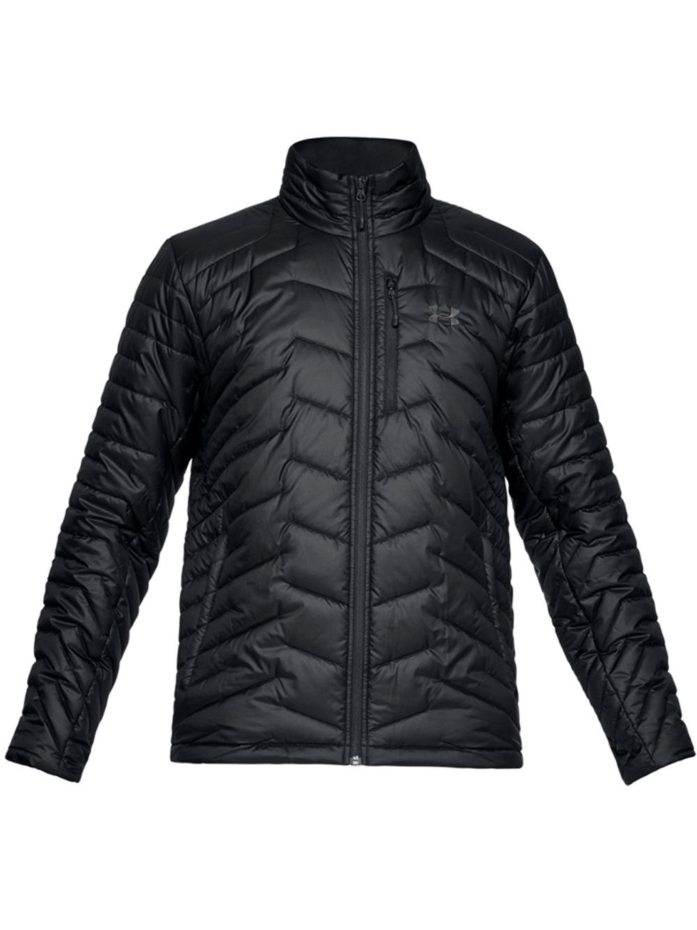 מעיל פוך שחור אנדר ארמור לגבר 1316010-001 Under Armour ColdGear Reactor Jacket