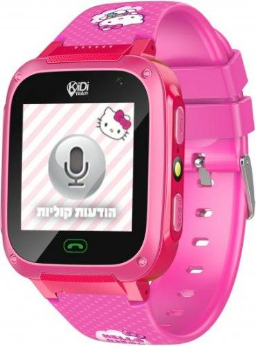 KidiWatch- שעון טלפון חכם הלו קיטי שעון בטיחות מתקדם חכם לילדים - הטלפון הראשון לילד.