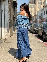 חצאית מקסי קומות וואל REALITY
