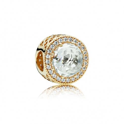 צ׳ארם פנדורה זהב 750843CZ