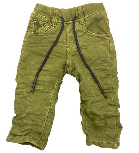 ג'ינס ORO גומי קימוטים ירוק