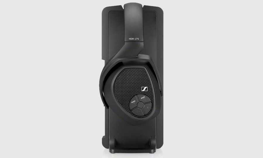 אוזניות אלחוטיות Sennheiser RS 175,מערכת מתמר דינמית עם מגנטים ניאודימיום רבי עוצמה להפקת צליל איכות