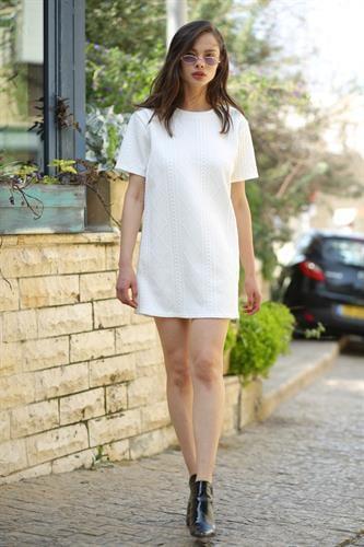 שמלת בריטני טקסטורה