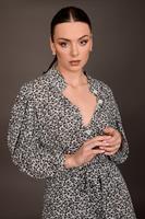 חולצת פאולינה פרחונית