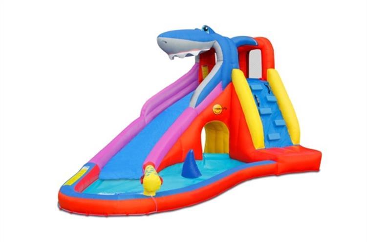 מתקן קפיצה ומים מועדון הכריש הפי הופ - 9417 - Shark Club Happy Hop