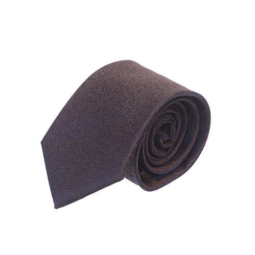 עניבה קלאסי חום כחול