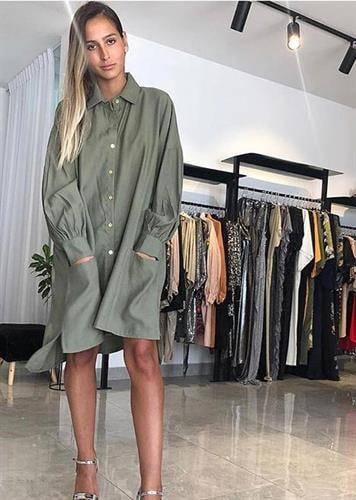 שמלת אריה ירוקה