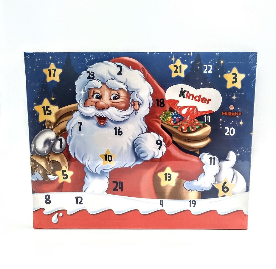 Advent Calendar Kinder סנטה קלאוס