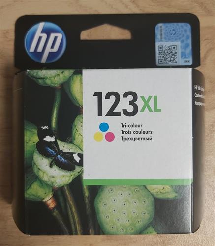 ראש דיו HP123 XL צבעוני
