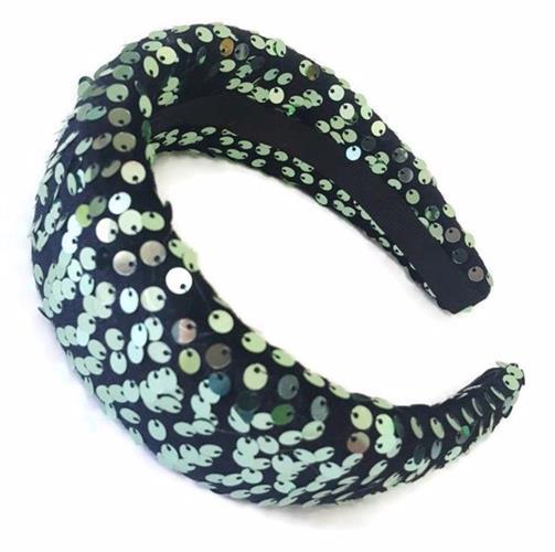 קשת פאייטים דגם זוהר ירוק