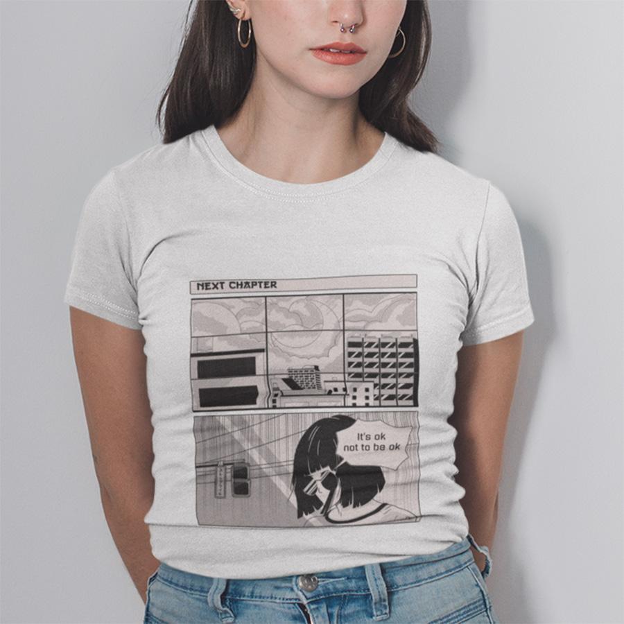 חולצת טי -  It's ok not to be ok