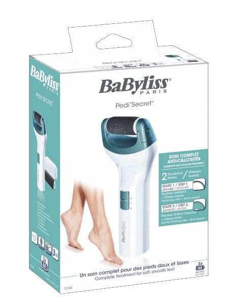 BaByliss מכשיר פדיקור ביתי לכפות רגליים יפות וחלקות דגם F-210E