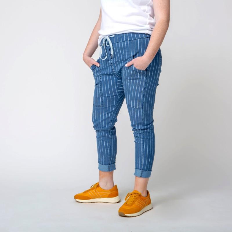 מכנסי SUNSHINE פסים