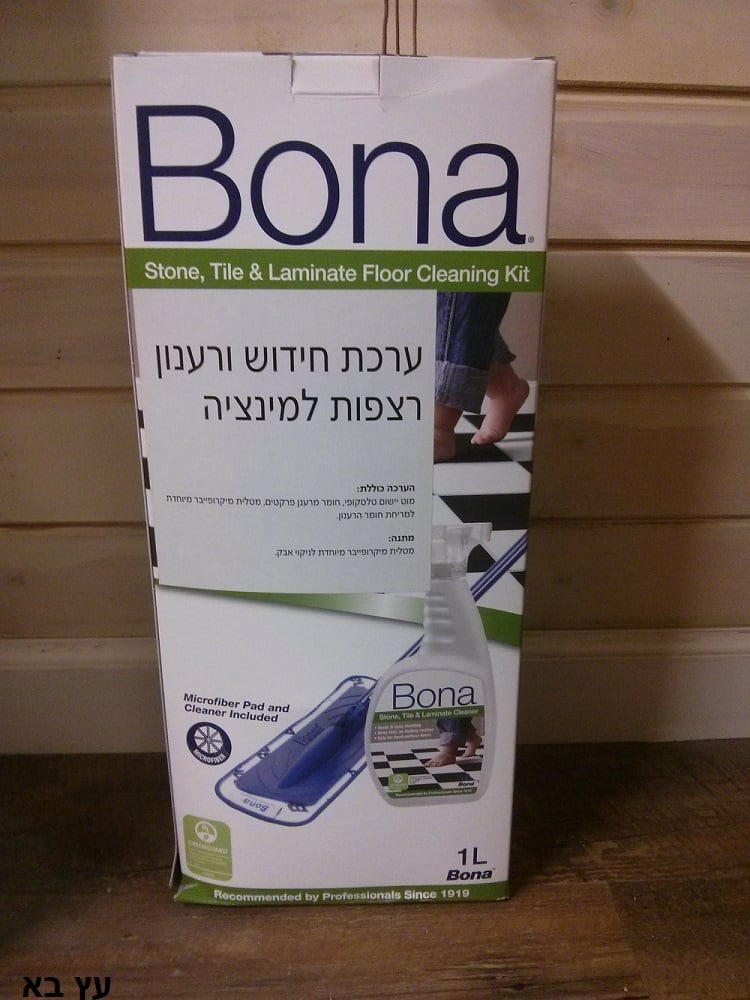בונה ערכת ניקוי לפרקט למינציה BONA