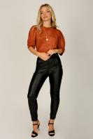 חולצת מישל בריק/חרדל